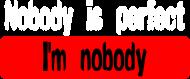 i'm nobody (woman t-shirt) li