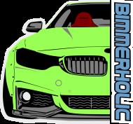 Bimmerholic M4 widebody - Green (men sweatshirt)