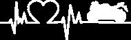 Linia życia - Motocykl (koszulka męska) jg