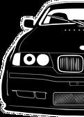 Half of BMW E36 (czapeczka)