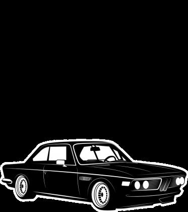 Kobieta Mafii - BMW E9 (bokserka damska) ciemna grafika