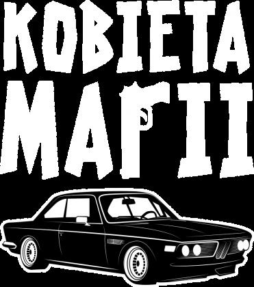 Kobieta Mafii - BMW E9 (bokserka damska) jasna grafika