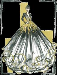 Dwustronna Poszewka Lśniąca Suknia