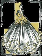 Podkładka pod kubek Lśniąca Suknia