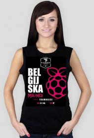 Koszulka damska - Belgijska Malinka