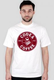 """Koszulka """"Code & Coffee"""""""
