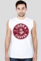 """Koszulka bez rękawów """"Code & Coffee"""""""