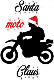 Santa moto claus - kubek świąteczny