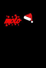 Santa moto claus - koszulka męska świąteczna
