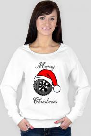 Świąteczna opona - damska bluza świąteczna
