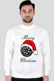 Świąteczna opona - męska bluza świąteczna