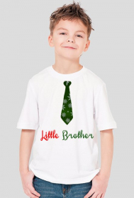Little Brother - koszulka chłopięca świąteczna
