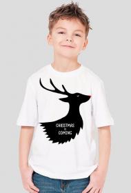 Christmas is coming - koszulka dziecięca