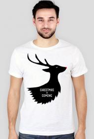 Christmas is coming - koszulka męska świąteczna