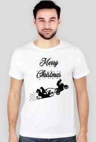 Merry Christmas - męska koszulka świąteczna