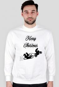 Merry Christmas - męska bluza świąteczna