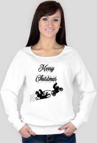Merry Christmas - damska bluza świąteczna