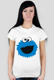 Cookie monster - damska koszulka