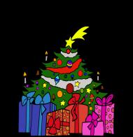 Koszulka damska ''Wesołych Świąt''
