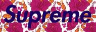 Supreme box logo kwiaty (tee męskie)