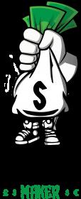 Damska koszulka MONEY MAKER