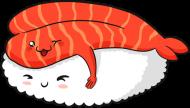 Koszula Nocna - Sushi Love