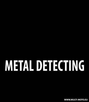 Warning Metal Detecting Cup