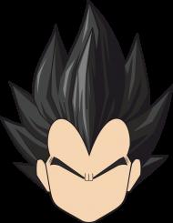 Dragon Ball Vegeta - Bluza męska college baseball