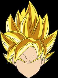 Dragon Ball Goku SSJ - Bluza męska college baseball