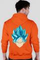 Dragon Ball Goku Super Sayian Blue - Bluza męska z kapturem