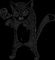 Koszulka z kotkiem