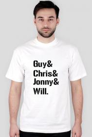 Guy& Chris& Jonny& Will.
