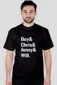 Guy& Chris& Jonny& Will. black