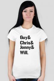 Guy& Chris& Jonny& Will. W