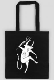 Tańczący biały diabeł (torba)