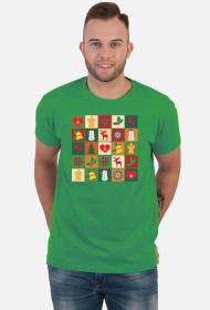 Koszulka męska - Świąteczna