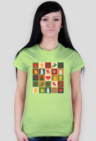 Koszulka damska - Świąteczna