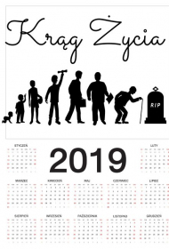 Kalendarz na 2019 rok - Krąg Życia