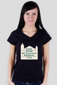 Wawel - koszulka damska V-neck