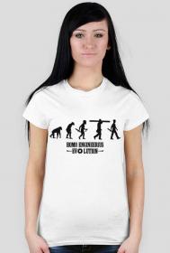 Homo engineerius - koszulka damska