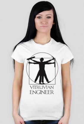 Vitruvian Engineer - koszulka damska
