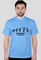 Homo engineerius - koszulka męska