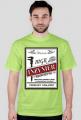 mgr inżynier budownictwa - koszulka męska