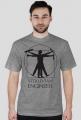Vitruvian Engineer - koszulka męska