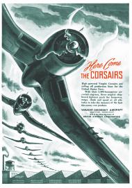Plakat A2 42x59cm Corsair vintage