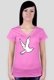 Koszulka damska V neck #1