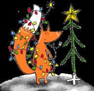 Świąteczny lis