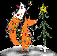 idą święta lis