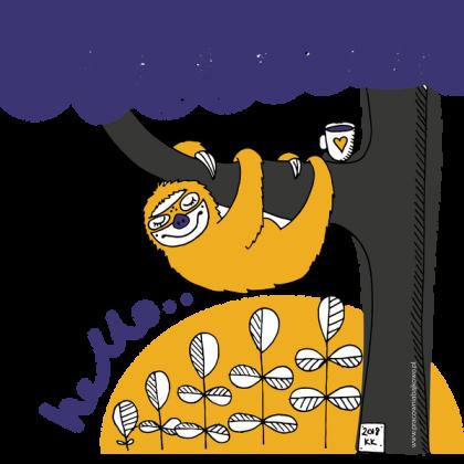 Leniwiec kubek
