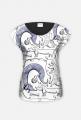 Jamnikowy T-Shirt damski